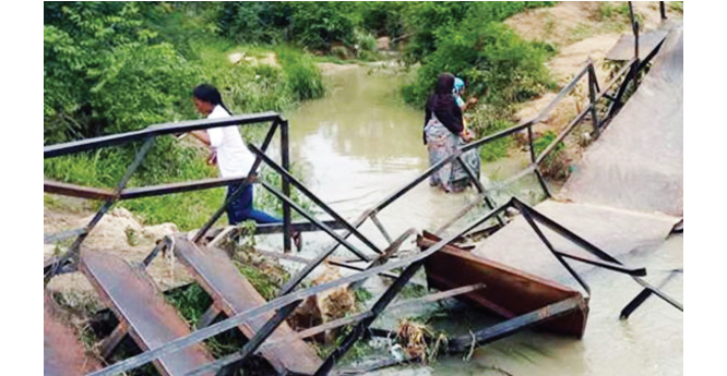 Collapsed bridge: ATBU Gubi campus doesn't look like university, everything is poor –Students