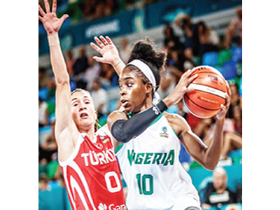 D'Tigress players storm Maputo