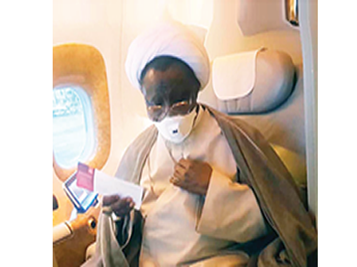 El-Zakzaky, wife off to India for medicals