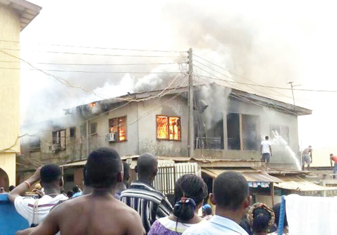 Five siblings die in Lagos fire