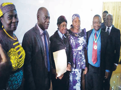 ICAN awards scholarship to UNIJOS indigent student