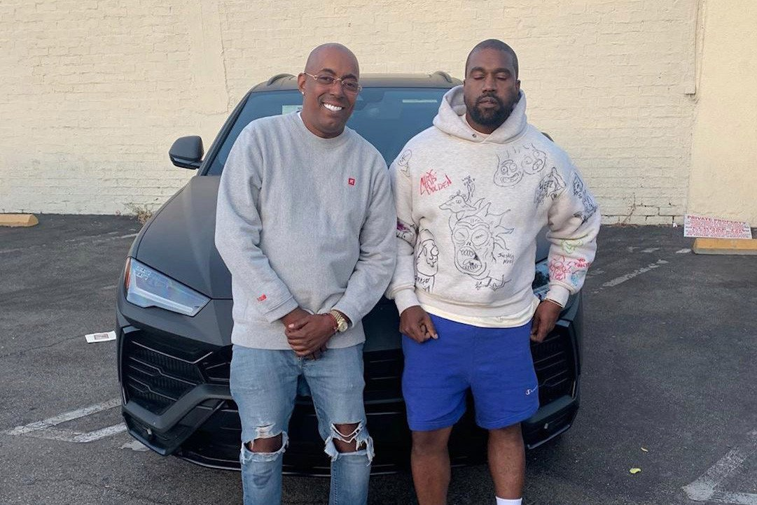 Kanye West buys former manager $.3m Lamborghini SUV