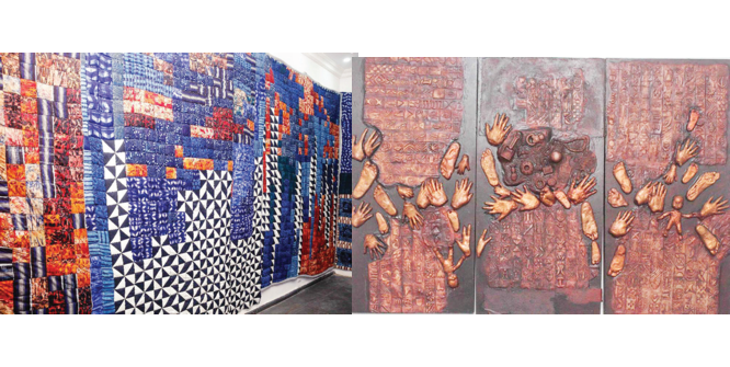 Indigo Reimagined:  Celebrating ingenuity of Yoruba women
