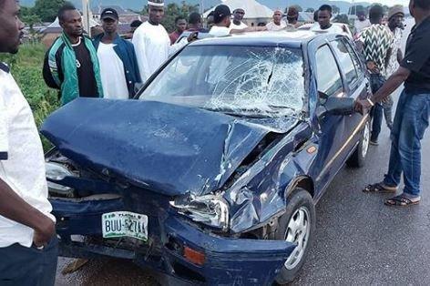 Nigerian comedian, Klint Da Drunk, survives car crash
