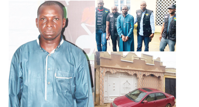 Kidnap kingpin, Wadume, tracked to uncle's Kano residence