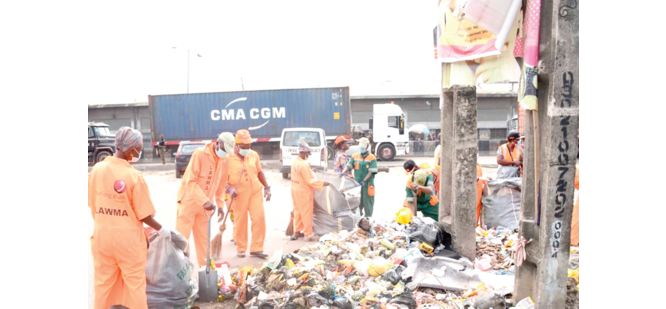 Executive Order, Sallah: LAWMA begins waste evacuation in Apapa