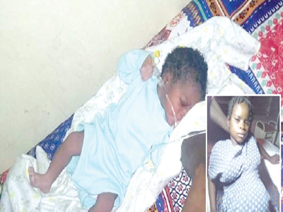 10-year-old raped orphan gives birth