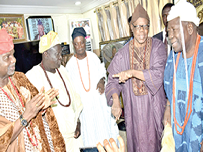 Face-off: Ajimobi's Obas dare Olubadan again