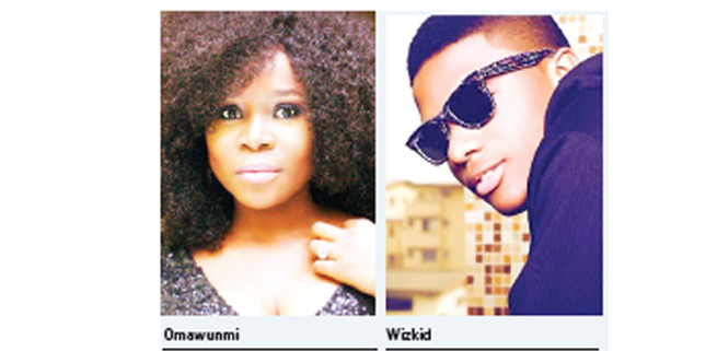 Omawumi thanks Wizkid for unnamed honour done to her