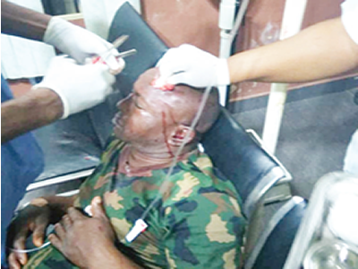 Soldiers order doctor out, stab patient to death - Police
