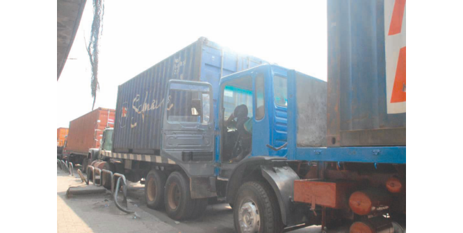 Port haulage charges drop