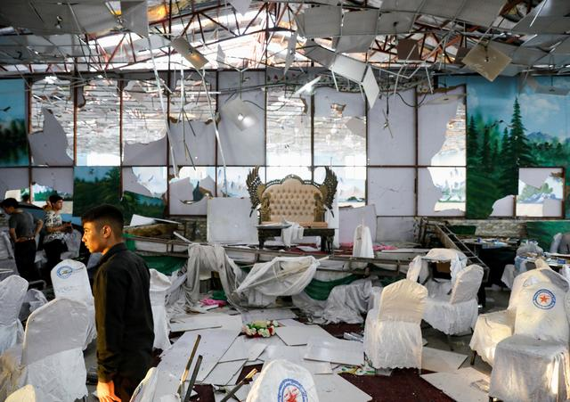ISIS claim responsibility for Kabul wedding suicide bombing