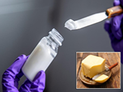 Scientists create butter made mainly of water