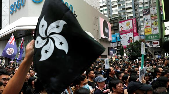 Thousands resume Hong Kong protests