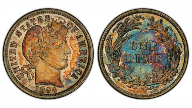125-year-old US dime sells for N.5bn