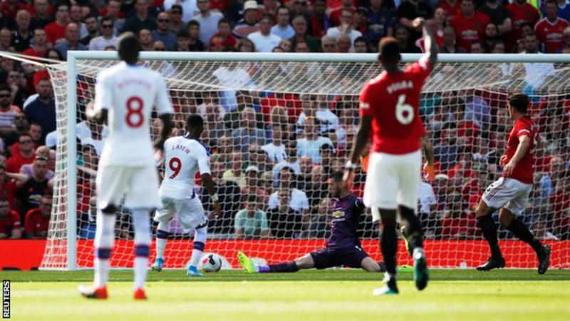 EPL: Palace stun Man United, Lampard secures first win