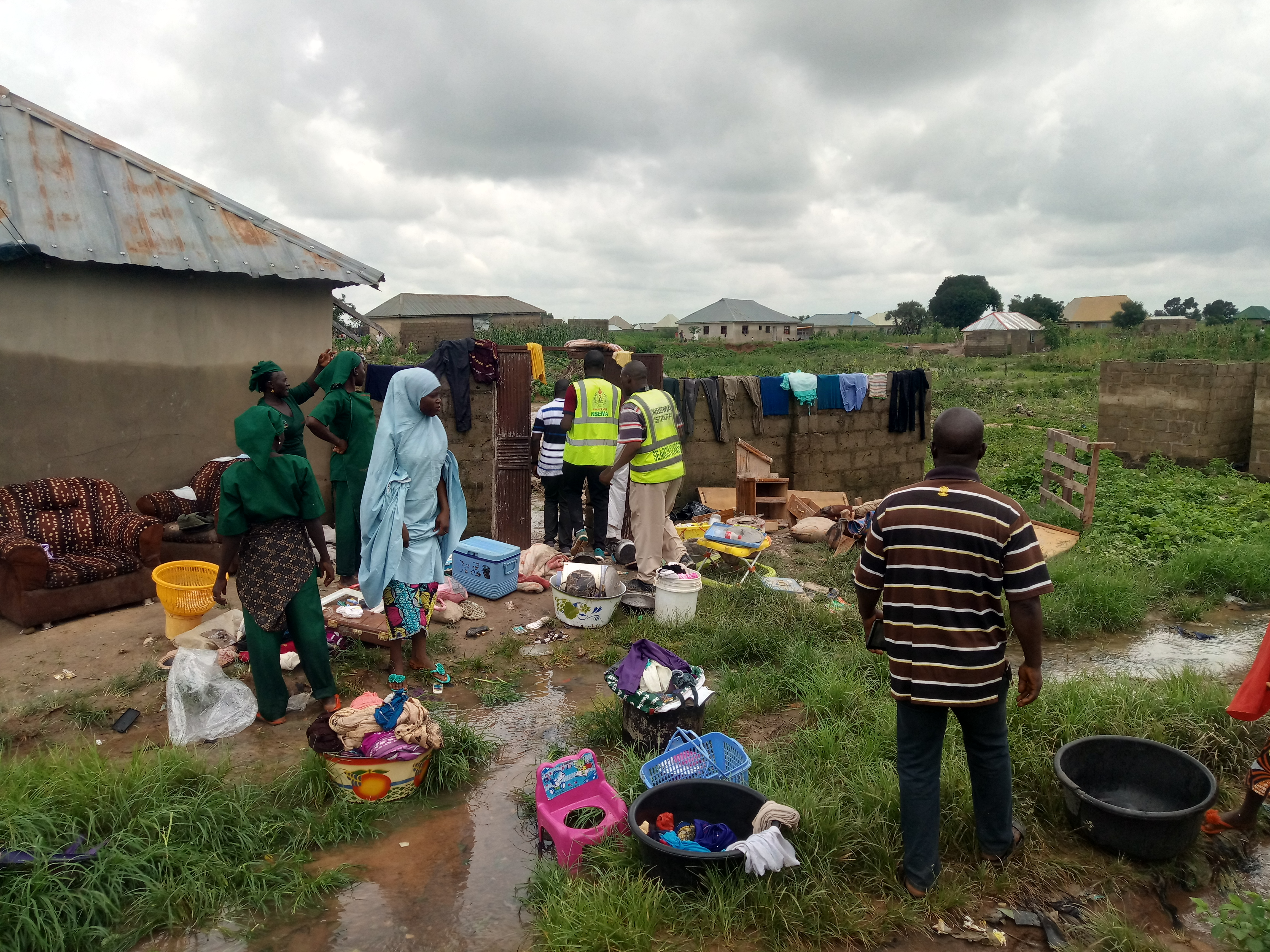 Flood claims 3 lives, submerges over 20 houses in Niger
