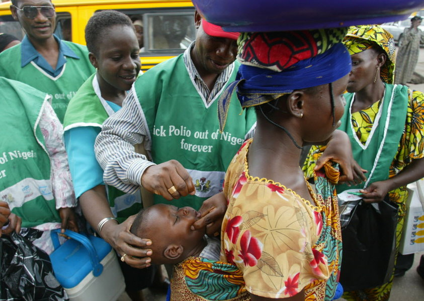 Nigeria marks three years clear of polio