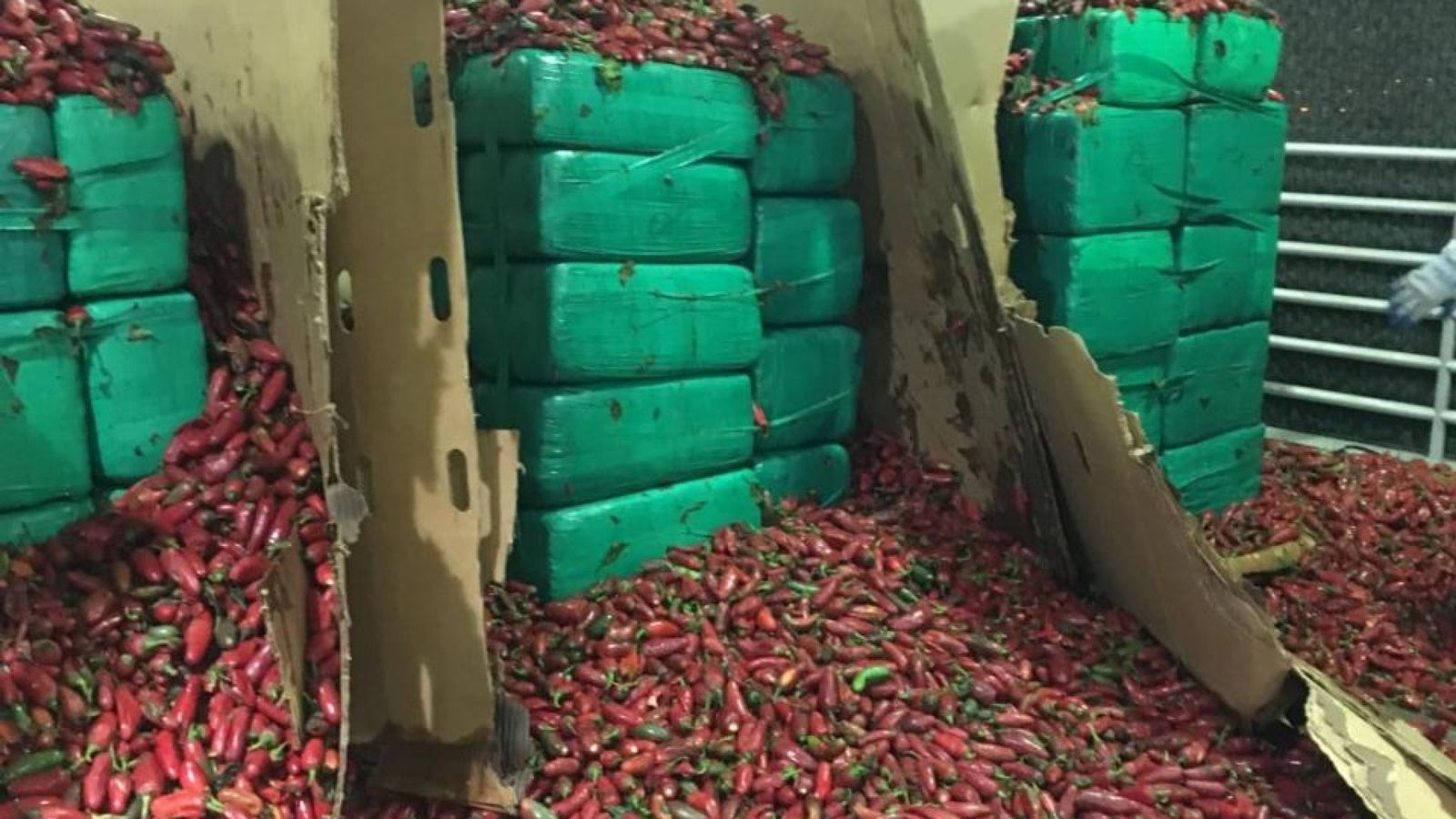 US Customs stops 3 tonnes of marijuana entering country