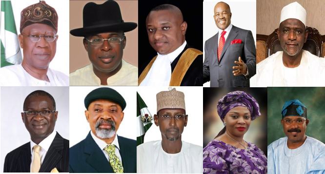Onu, Ngige, Mohammed retain posts as Fashola, Amaechi shed weight in new cabinet