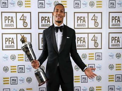 Van Dijk wins UEFA Men's MVP ahead of Messi, Ronaldo