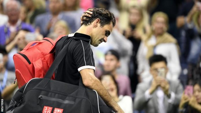 US Open: Dimitrov stuns Federer in five sets