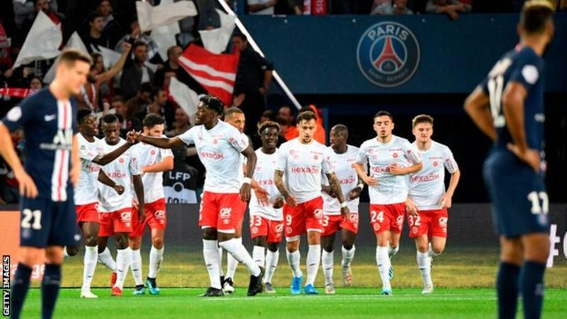 PSG lose first home match since May 2018