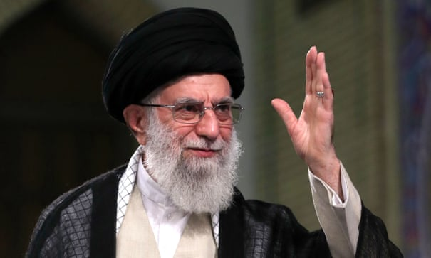 Iran's supreme leader rules out any talks with US officials