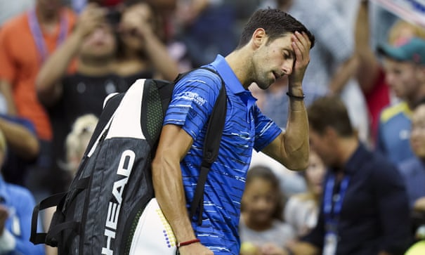 US Open: Injury ends Djokovic's title defence