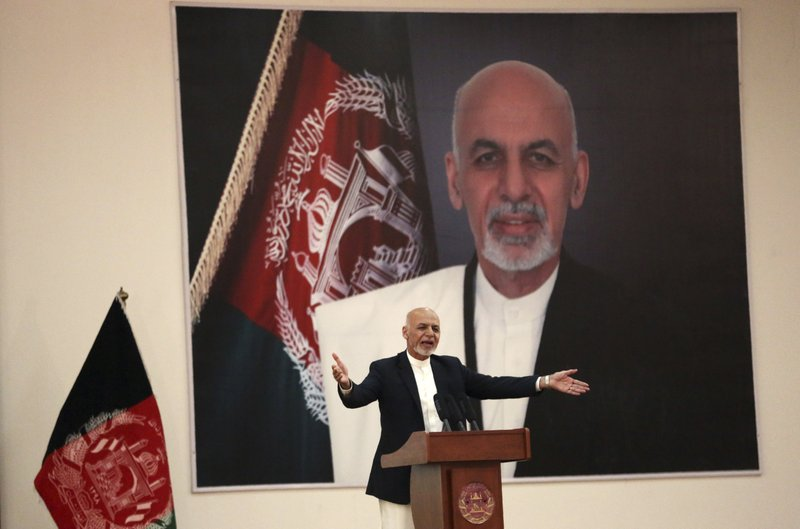 24 killed in bomb attack at Afghan president's rally