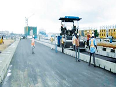 Closing unemployment gap via road construction