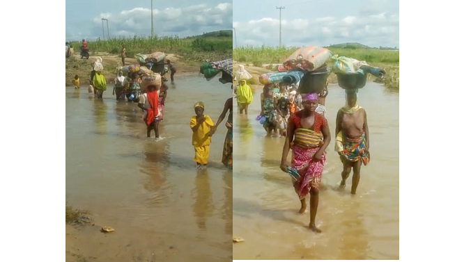 Armed bandits sack Niger communities as villagers flee through rivers, forests