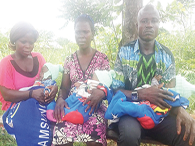 Displaced with triplets, in need of help over breast pains