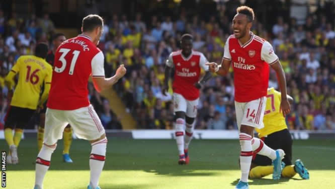 EPL: Watford comeback to deny Arsenal three points