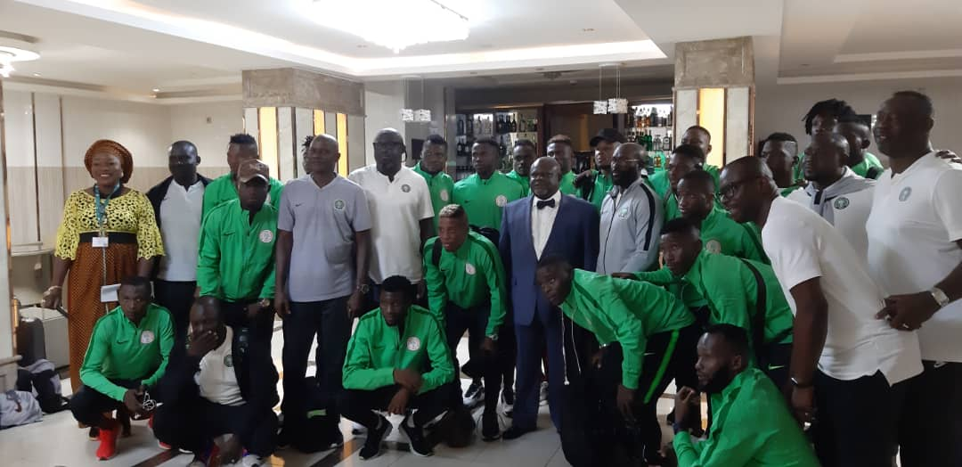 CHAN 2020: Ambassador charges Eagles to fly over Sparrow Hawks