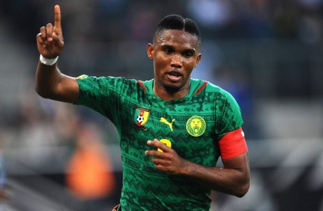 Eto'o junior set to follow in father's footsteps for Cameroon