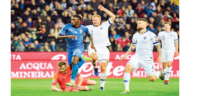 Euro 2020: In-form Pukki out to end 80-year Azzurri jinx