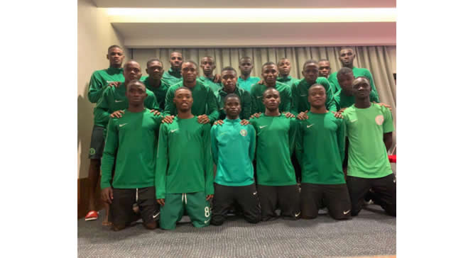 UEFA/CAF Tourney: Eaglets tackle host Turkey in opener
