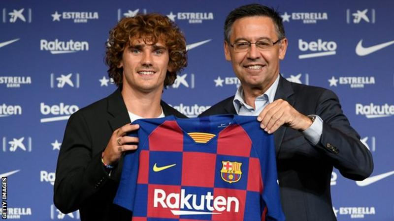 Spanish Federation fines Barca £265 for Griezmann approach