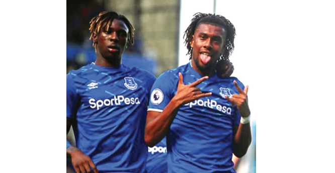 Iwobi fires Everton to victory over Wolves