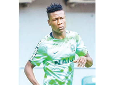 2021 AFCON qualifiers: Kalu aims for spotlight as Eagles target vic tory in Maseru