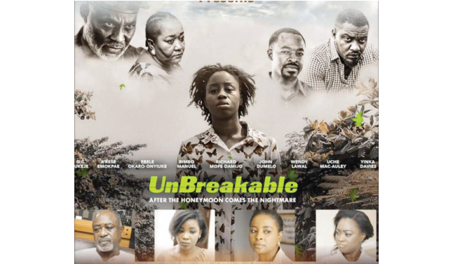Love as recipe for mental illness, Unbreakable screens at UNN
