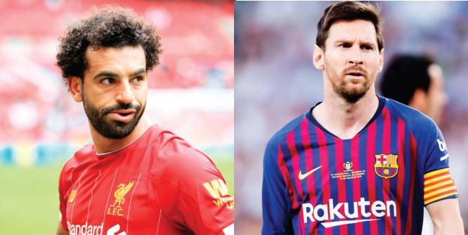 Wenger likens Mo Salah to Messi