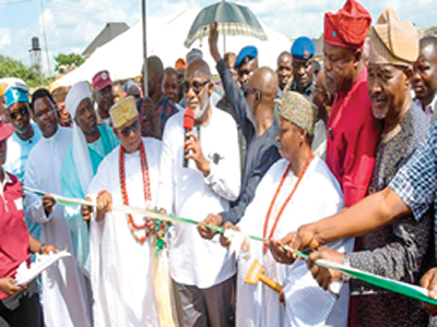 Ondo: Touching lives through road construction
