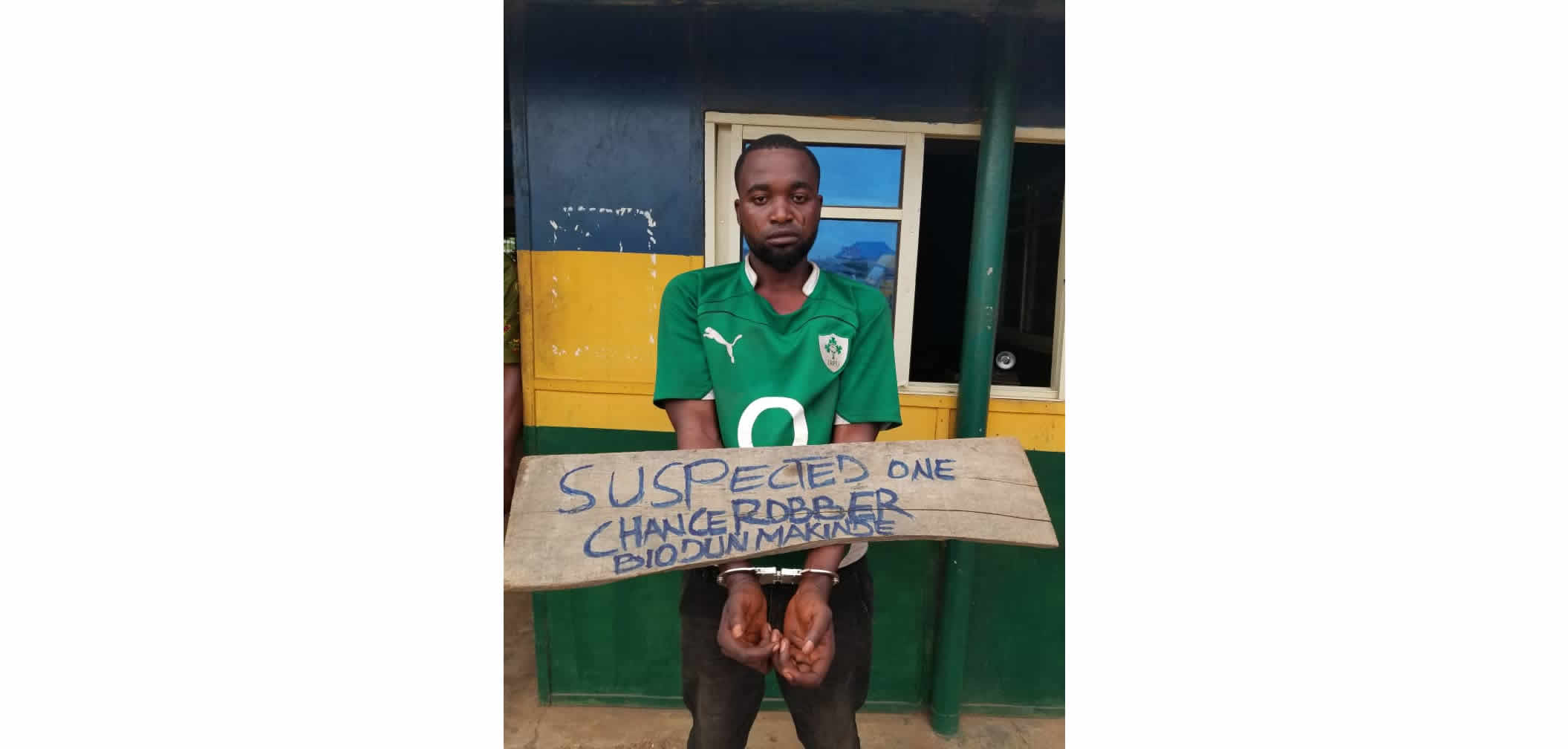 One-chance robber arrested in Ogun