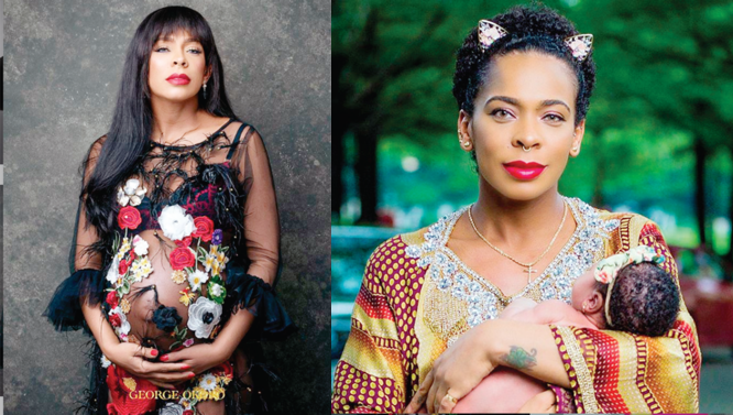 Tboss releases pregnancy shoots, first photos of her baby girl