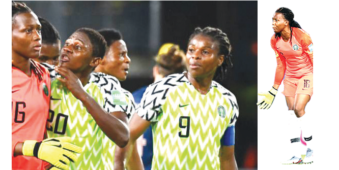 World Cup experience helped me at African Games –Falconets' goalkeeper