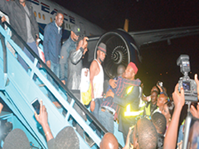 Xenophobia: 187 Nigerians return from S' Africa