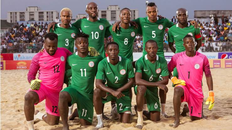 Nigeria to face Brazil in Beach Soccer World Cup