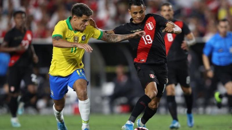 Peru ends Brazil's 17-match unbeaten run